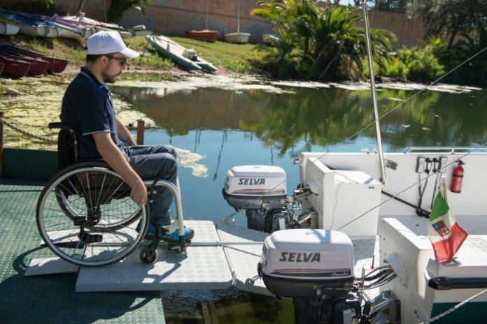 navigare in mare per disabili